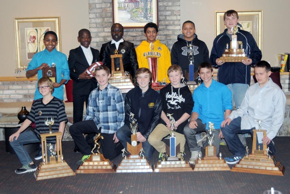 2014 Bell Warriors Mosquito Award Winners