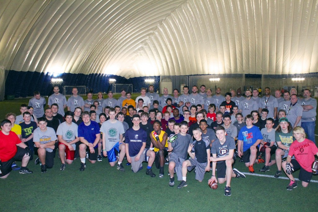 2014 Inaugural Touchdown Advanced Football Skills Camp