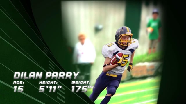 Dilan Parry (WR) 2014 Highlight Video