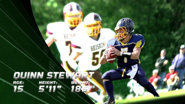 Quinn Stewart (QB/SB) 2014 Highlight Video