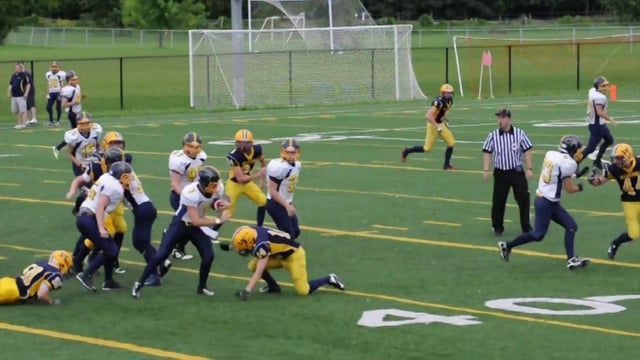 NCAFA.TV - Week 2 - Warriors v.s. Wolverines