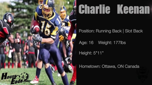 NCAF Films presents - Charlie Keenan RB/SB