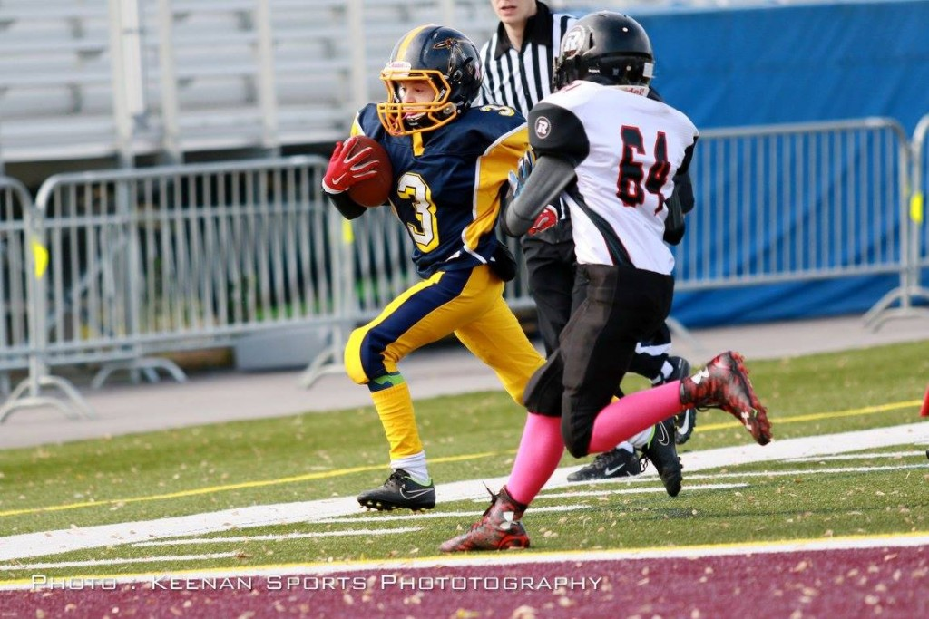 Standout Mosquito RB Andrew Howatt has been doing this all year!