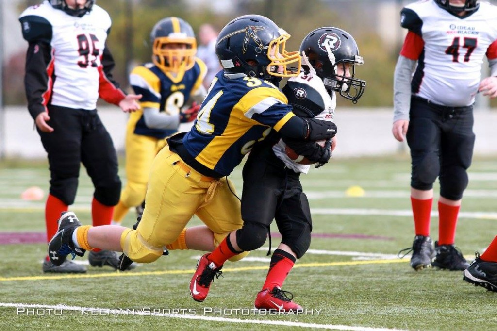 Tyke Captain Ryan Morissette has been a stand out LB all year!
