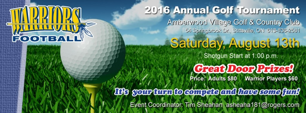 Golf Tournament 2016 FB