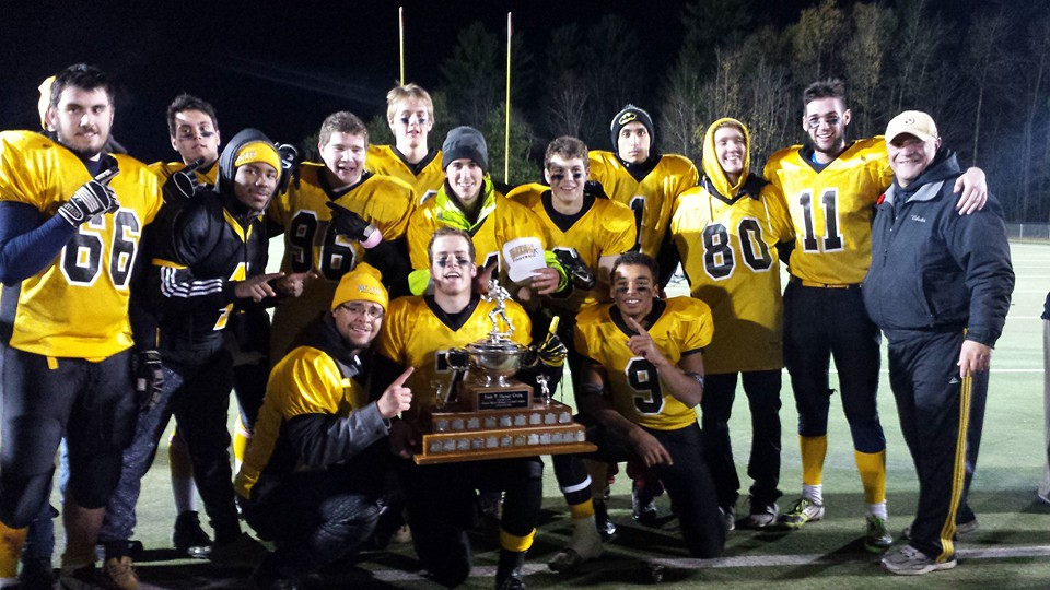 One of 14 Warriors Alumni winning the '15 NCAFA Midget A-Cup